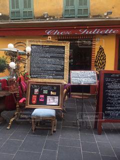 フランスのカフェの写真・画像素材[1168350]