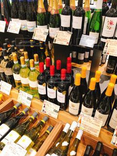 ワイン売り場の写真・画像素材[1172758]
