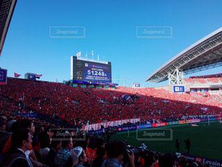 大勢の人のスタジアムの写真・画像素材[1175488]