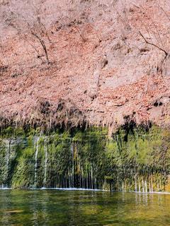 軽井沢 白糸の滝の写真・画像素材[1176574]