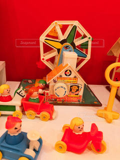 観覧車のおもちゃの写真・画像素材[1177969]