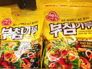 韓国チヂミの粉の写真・画像素材[1191129]