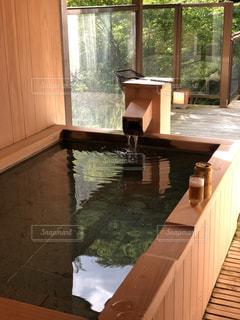 露天風呂の写真・画像素材[1191407]