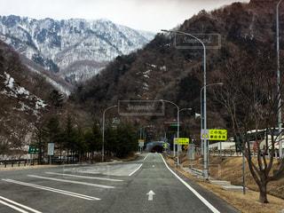 雪国への入り口の写真・画像素材[1246114]