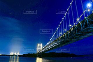 夜の瀬戸大橋の写真・画像素材[1168966]