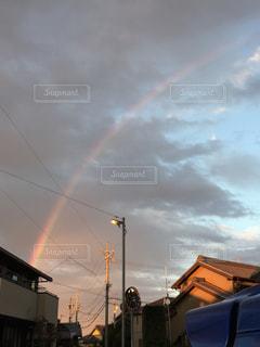 空には雲のグループの写真・画像素材[1167066]