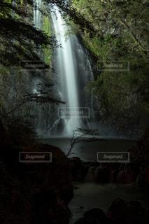 箕面の滝の写真・画像素材[3123106]