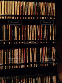 CD棚の写真・画像素材[1194488]