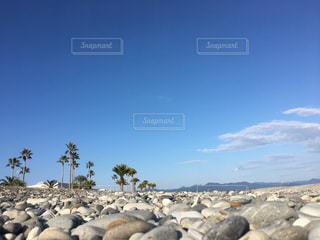 地元の砂利浜の写真・画像素材[1189650]