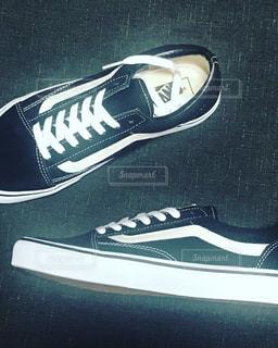 黒の靴のペアの写真・画像素材[1168732]