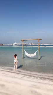 プライベートビーチの写真・画像素材[1184091]