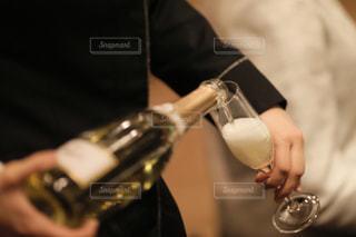 ワインのグラスの写真・画像素材[1324216]