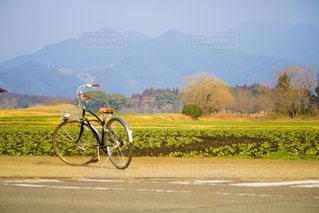 撮影の時に使った自転車の写真・画像素材[1168849]