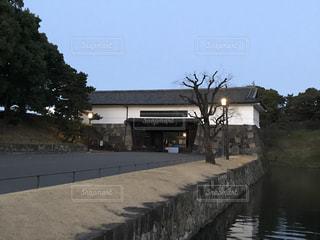 早朝の桜田門の写真・画像素材[1169320]
