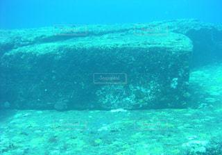 海底遺跡の写真・画像素材[1170298]