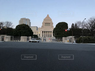 朝の国会議事堂の写真・画像素材[1170457]