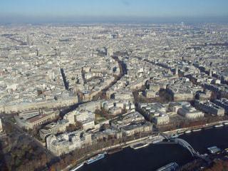 エッフェル塔からのパリ市街の写真・画像素材[1170518]