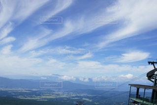 山の青空の写真・画像素材[1173148]