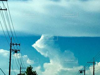 雲が降りてきた?の写真・画像素材[1355810]