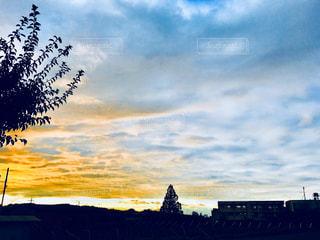夕焼け空の写真・画像素材[1373885]