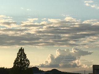 空の雲の写真・画像素材[1375979]
