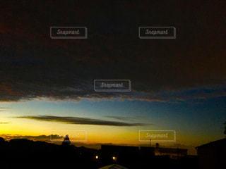 台風前の空の写真・画像素材[1430691]