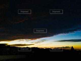 台風前の空。の写真・画像素材[1430693]
