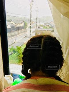 初めての本格的な台風の写真・画像素材[1432253]