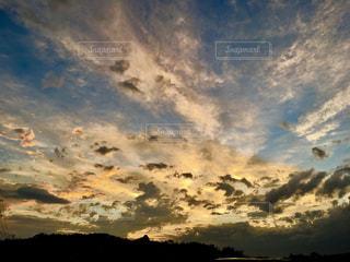 台風後の空の写真・画像素材[1432416]