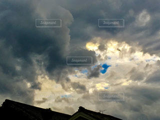 台風後の空に。の写真・画像素材[1432417]