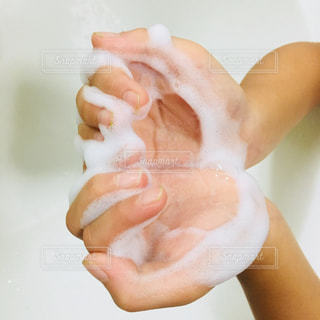 泡いっぱいのハートの写真・画像素材[1441557]