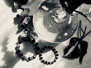 ペアの数珠の写真・画像素材[1509446]