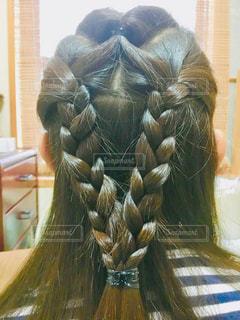本日の髪型の写真・画像素材[1563540]