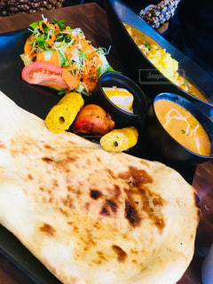インド料理のランチの写真・画像素材[1576194]