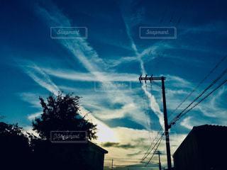 お空に落書き❤️の写真・画像素材[1608774]