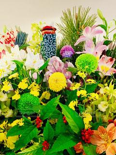 お正月の花の写真・画像素材[1705836]
