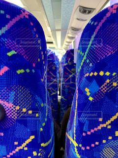 バスの座席の写真・画像素材[1723404]