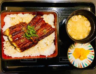 鰻定食の写真・画像素材[1752641]