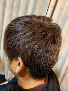髪伸びたなぁ💦の写真・画像素材[1771282]