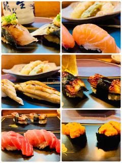 お寿司屋さんに行ってきました。の写真・画像素材[2124307]