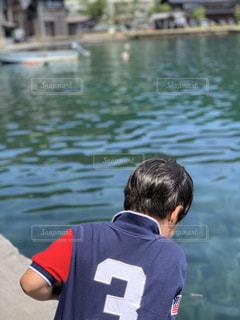 釣りに必死の写真・画像素材[2373558]