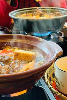 お昼ご飯はすき焼きの写真・画像素材[2959542]