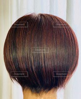 ショートヘアーの写真・画像素材[3085404]