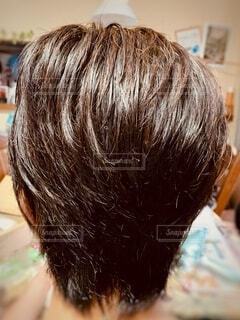 ショートヘアーの写真・画像素材[3904205]