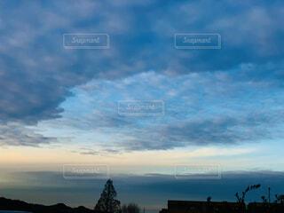 寒い日の写真・画像素材[4005328]