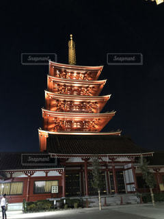 浅草寺の五重の塔の写真・画像素材[1170223]