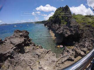 沖縄のあるビーチの写真・画像素材[1176441]