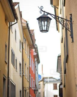 スイス🇨🇭クールの町の街灯 - No.1171691