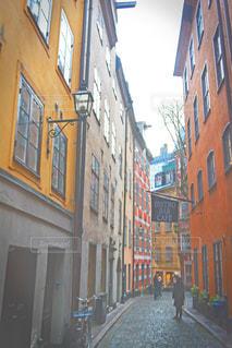 ストックホルムの旧市街にての写真・画像素材[1172628]