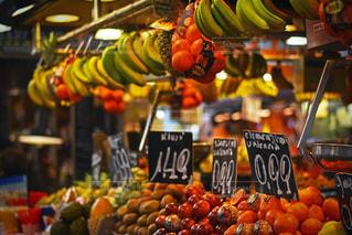 バルセロナのフルーツマーケットの写真・画像素材[1172698]